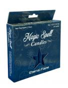Eternal Flame Magic Spell Candles - Pack of 20 - Black
