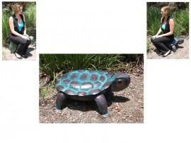 Metal Outdoor Garden Turtle - 76cms