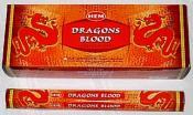 Hem Dragon's Blood Incense - Red