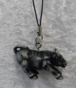 Charcoal Coloured Ox Hanging - Strength