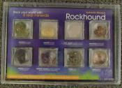Rockhound Specimin Set - Eight (8) Real Minerals in Individual chambers